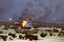 科威特油田大火