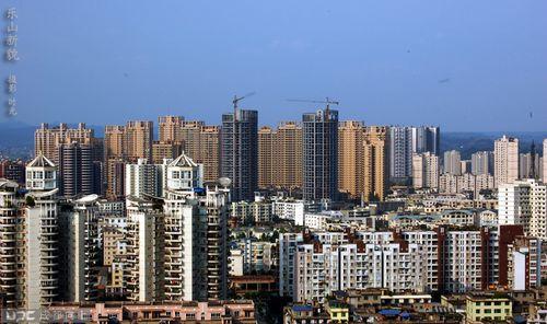 乐山城市化进程加速