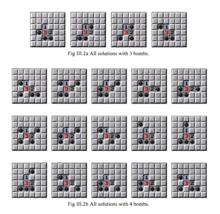 解方程组得到的19组解